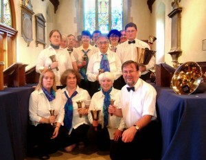 Team shot: Chobham Church, September 2004